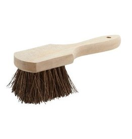 "Winco Pot Brush, 10"", wooden handle"