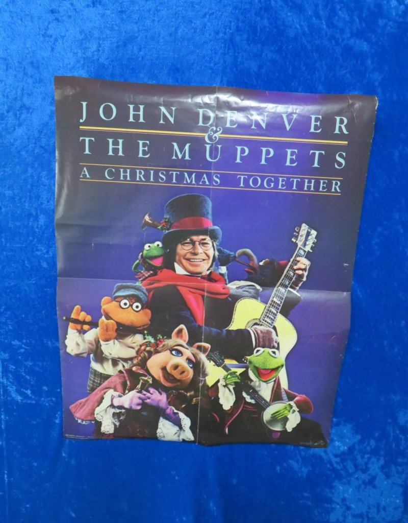 John Denver and The Muppets: A Christmas Together Poster - St ...