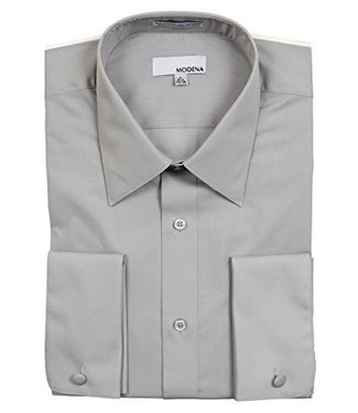 Modena Stout Dress Shirt Gray