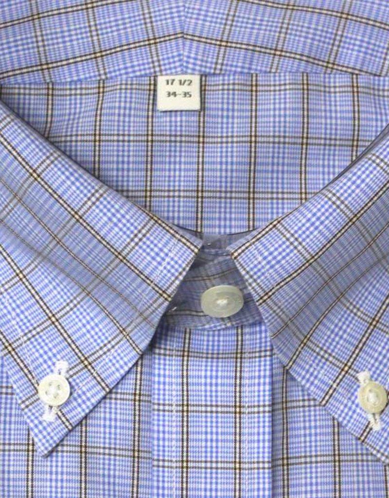 Enro Enro Knox Hill Check Blue Button Down Big &Tall Shirt