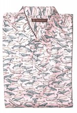 Tori Richard Tori Richard Living Large Pink Short Sleeve