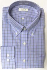 Enro Enro Knox Hill Check BlueButton Down Shirt