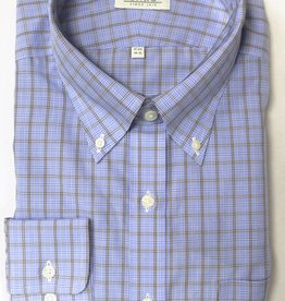 Enro Enro Knox Hill Check BlueButton Down Shirt