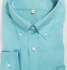 Enro Enro Newton Pinpoint Aqua Button Down Shirt