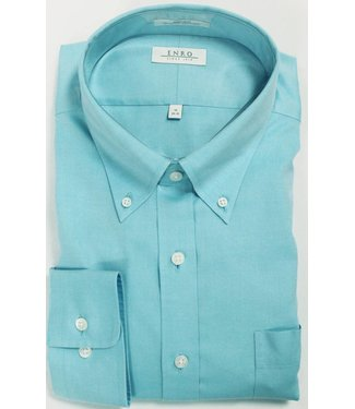 Enro Enro Newton Pinpoint Aqua Button Down Shirt