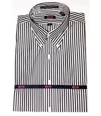 Overton Overton Black Stripe Full Sleeve