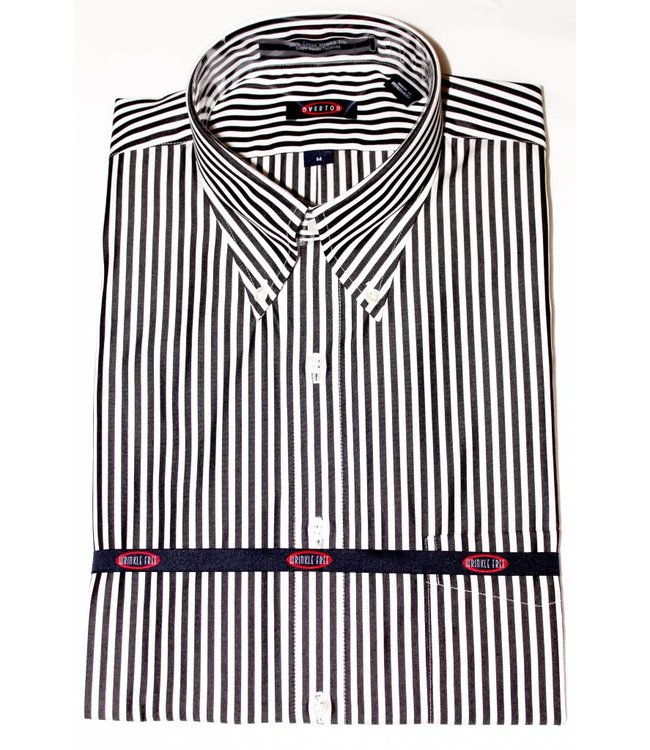 Overton Overton Black Stripe Full Sleeve