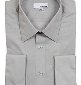 Modena Contemporary Fit Dress Shirt Gray