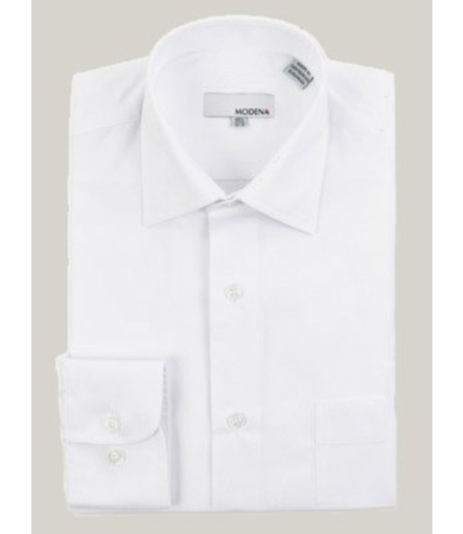 Modena Contemporary Fit Dress Shirt White