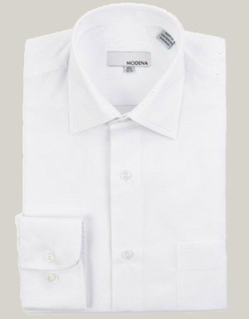 Modena Contemporary Fit Dress Shirt White