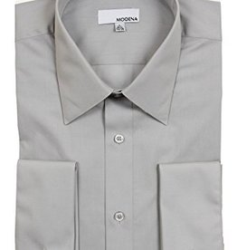 Modena Short Dress Shirt Gray
