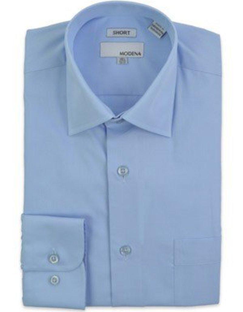 Modena Short Dress Shirt Blue
