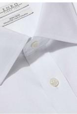 Enro Newton Pinpoint Oxford Spread Collar Non-Iron Dress Shirt In White