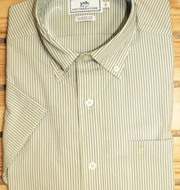 Southern Tide SUGAR CANE SEERSUCKER SHORT SLEEVE SPORT SHIRT