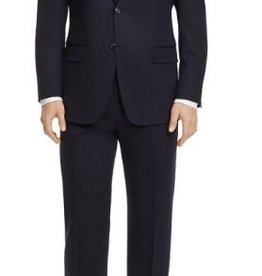Hart Schaffner Marx Hart Schaffner Marx - 100% Worsted Wool Chicago Fit Suit in Navy