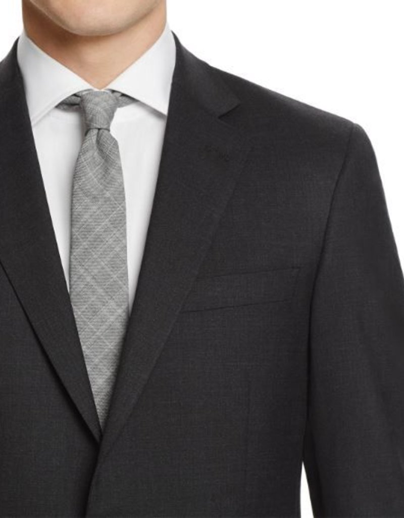 Hart Schaffner Marx Hart Schaffner Marx - 100% Worsted Wool Chicago Fit Suit in Charcoal