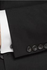 Hart Schaffner Marx Hart Schaffner Marx - 100% Worsted Wool Chicago Fit Suit in Black