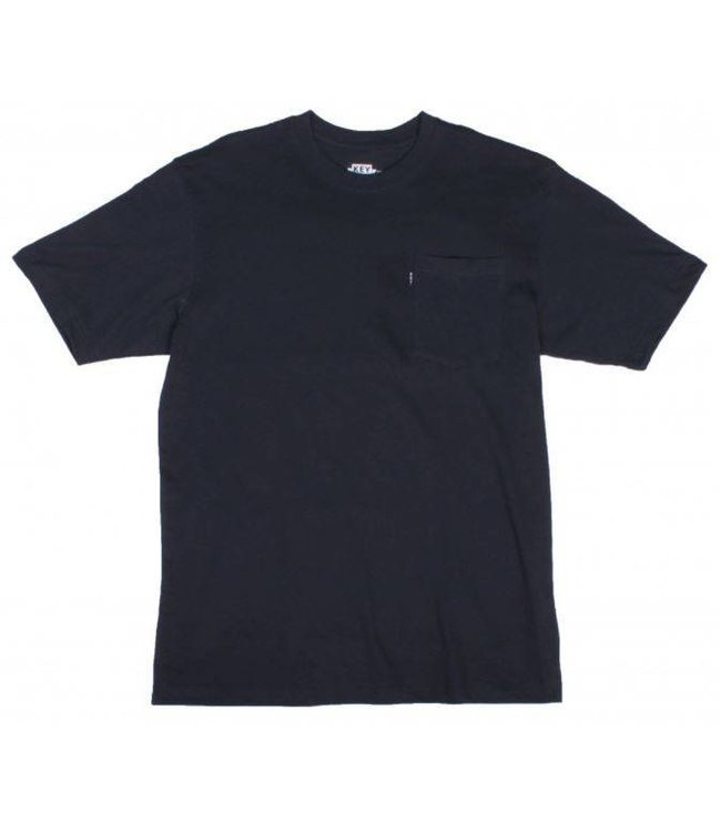 Key Work Clothes KEY BLENDED TEE IN NAVY 822.40