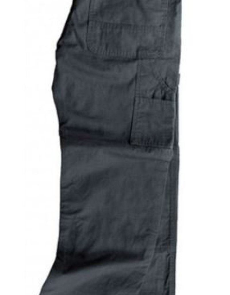 Key Work Clothes Rip Stop Dungaree, Double Knee, Relaxed Fit in Charcoal