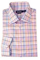 St. Croix LS Soft Color Check Shirt HBD