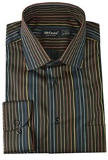 St. Croix LS Sateen Stripe Shirt CC