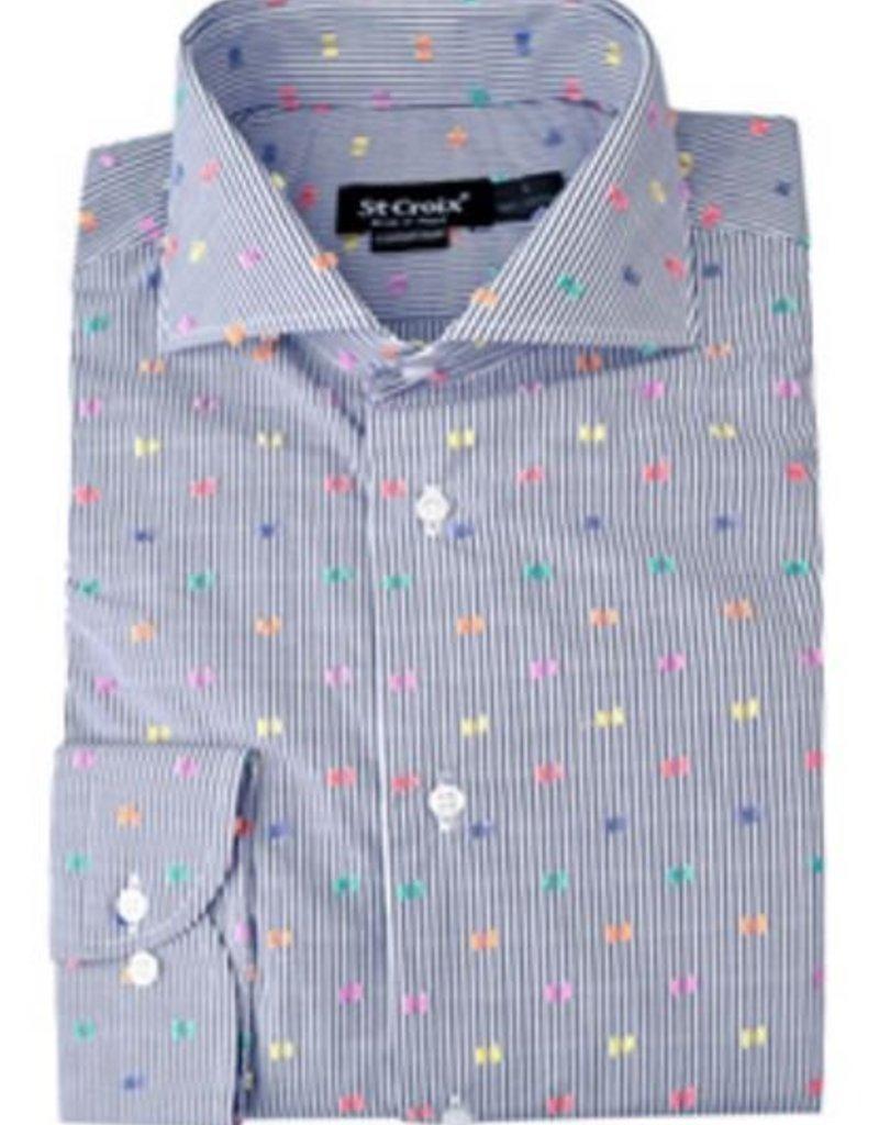 St. Croix LS Reverse Clipper Shirt CC