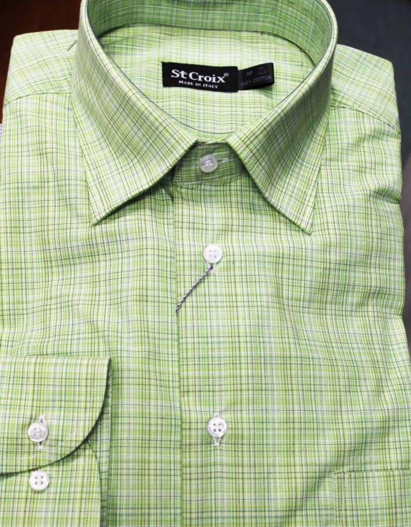 St. Croix LS Ombre Check Shirt HBD