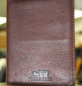 Joe Sugar's Joe Sugar's Large Bi-Fold Wallet Genuine Bison Leather Made in USA