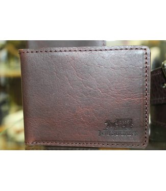 Joe Sugar's Joe Sugar's Passport/Credit Card Wallet Genuine Bison Leather Made in USA