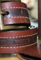 Joe Sugar's Joe Sugar's Genuine American Bison Leather Belts Big & Tall Sizes