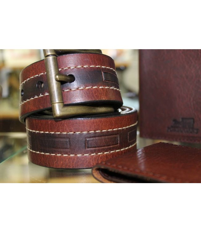 Joe Sugar's Joe Sugar's Genuine American Bison Leather Belts 9204 Big & Tall Sizes