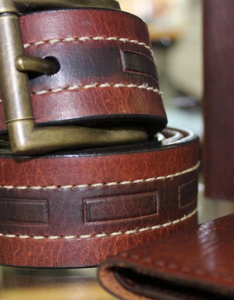 Joe Sugar's Joe Sugar's Genuine American Bison Leather Belts Regular Sizes
