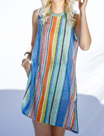 My Story Mint Mix Sleeveless Knit Top -