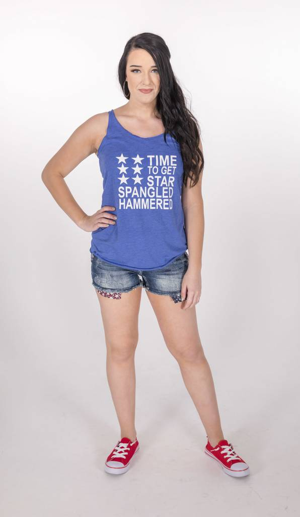 Time to Get Star Spangled Hammered Tank -