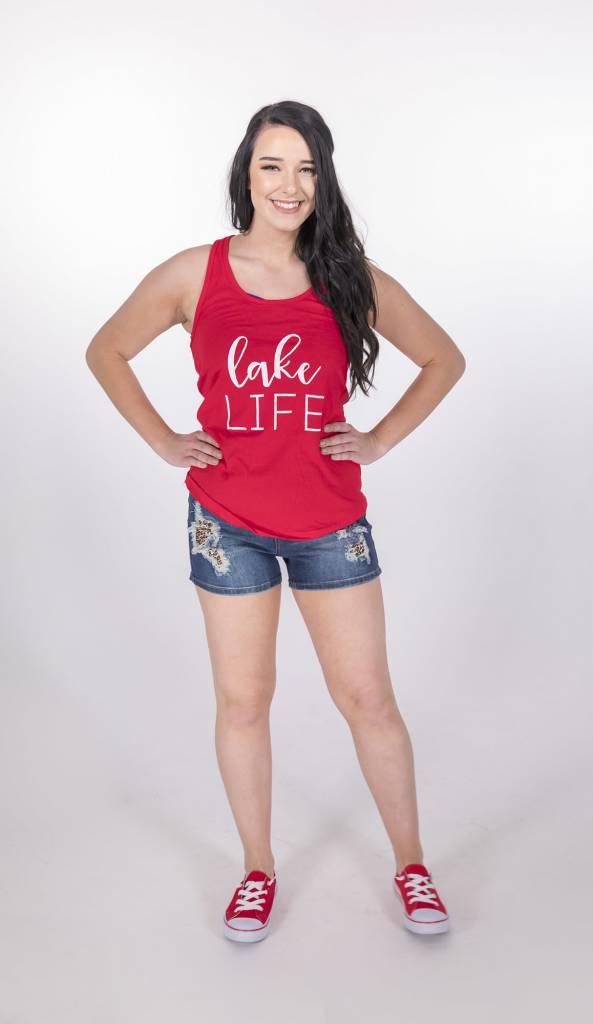 Red Lake Life Tank -