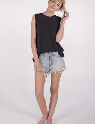 Free People No Sweat Tank (black) -