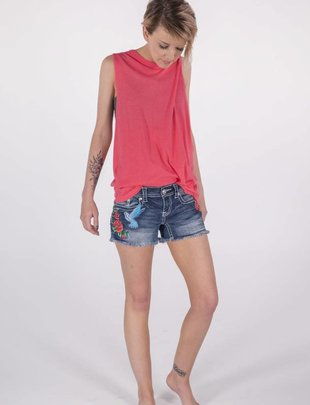 Free People Sweat Tank (Pink) -