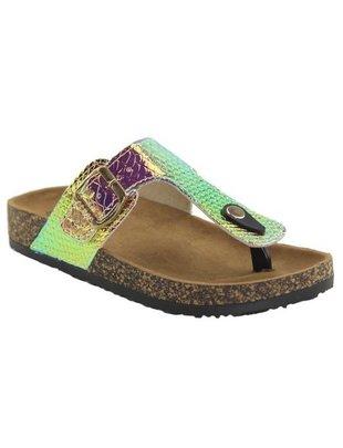 """Fashiongo """"Unicorn"""" Multi color sandal -"""