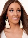 Copy of Red Filigree Drop Fringe Earrings -