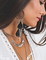 Boho Love Dreamcatcher & Dagger Earrings