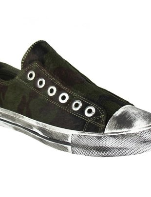 Naughty Monkey Shalomar Camouflage Tennis Shoe -