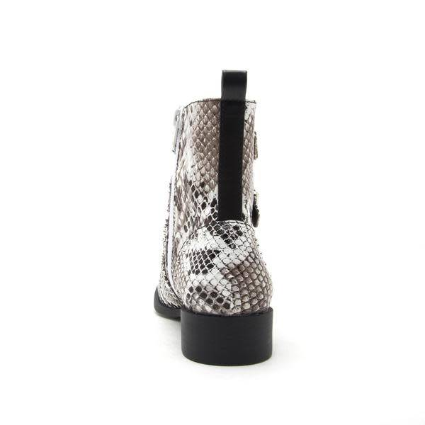 Vinci- Snake Skin Buckle Boot -