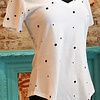 The Star Print V-Neck Tee