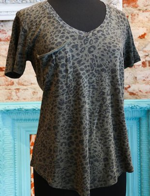 Z Supply The Leopard Pocket Tee
