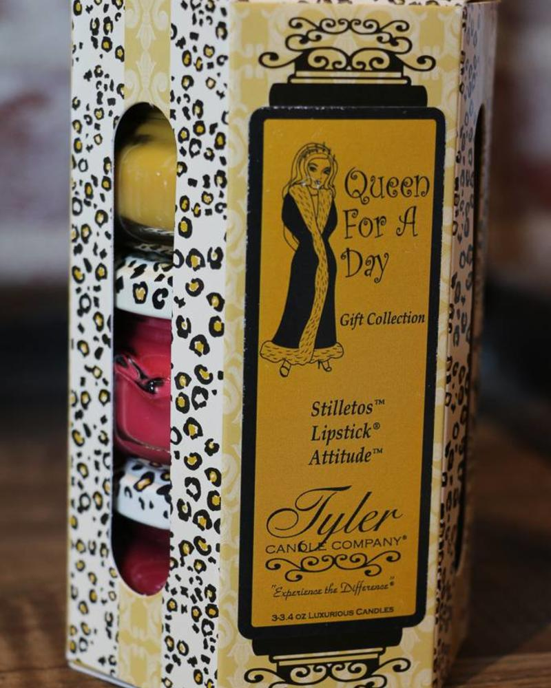 3.4 oz Queen for a Day! Candle Gift Set