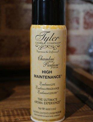 "Tyler Candle 4 oz Chambre Room Parfum ""High Maintenance"""