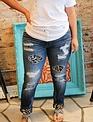 Kan Can Kan Can- Holly Garza Leopard Skinny Jean