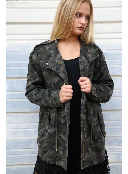 Dark Camo Jacket