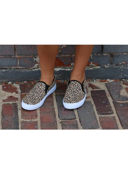 Leopard Reba Slip on Sneakers