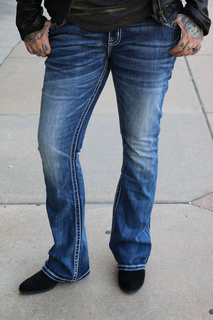 Miss Me Low-Rise Boot Cut Miss Me